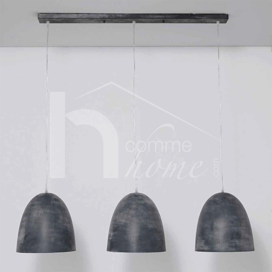 Suspension salle de bain design for Suspension luminaire 3 lampes