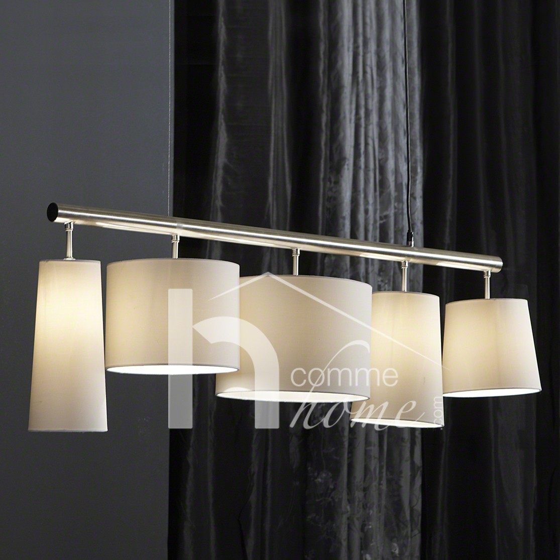 Eclairage chambre adulte for Luminaire suspension salon