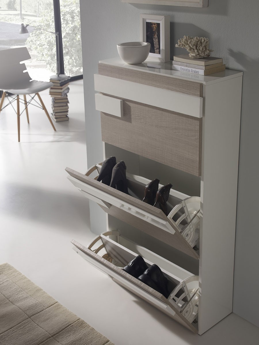 meubles chaussures compartiments bascules. Black Bedroom Furniture Sets. Home Design Ideas