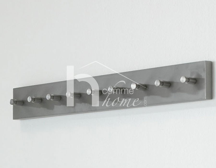 Patère design en inox 9 branches YOUNG