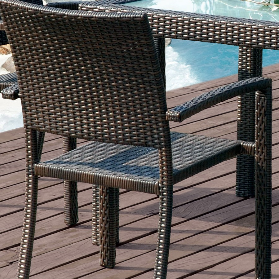 Best Salon De Jardin En Resine Tressee Couleur Taupe Contemporary ...