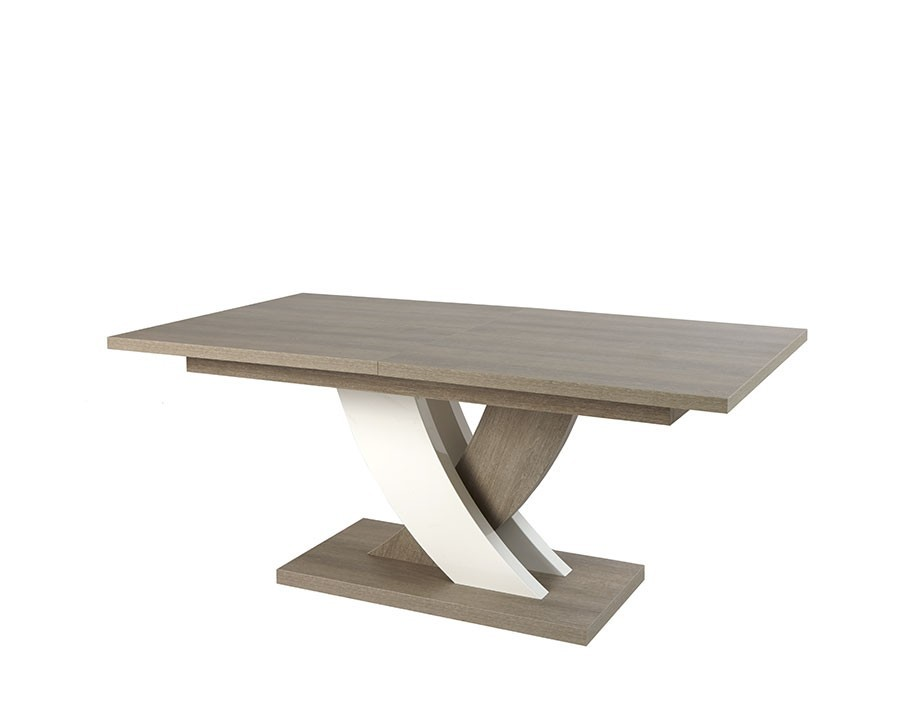 Table a manger avec rallonge integree maison design - Table avec rallonge integree ...