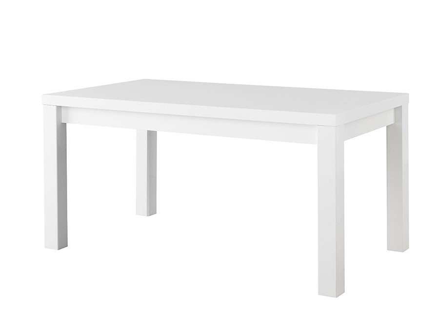 Table à manger design blanc laquée ANTIQUA