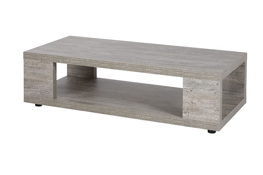 Table basse contemporaine couleur chêne brut GAND