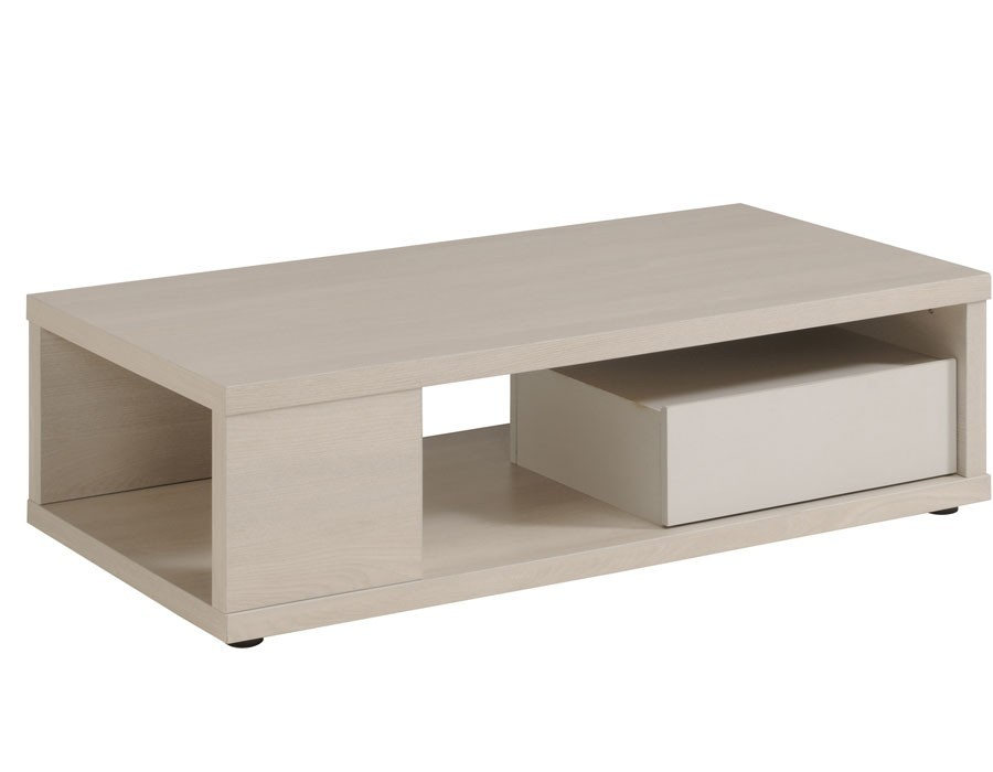 Table basse palette gris clair for Table bois clair