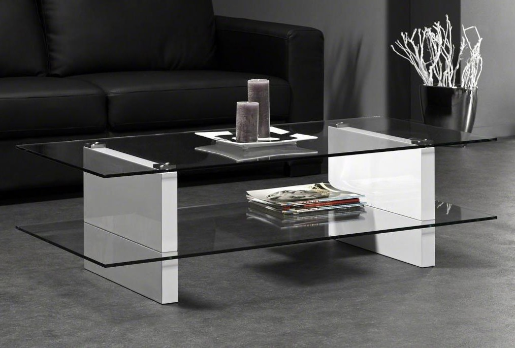 Table basse verre rectangulaire - Table basse rectangulaire verre ...