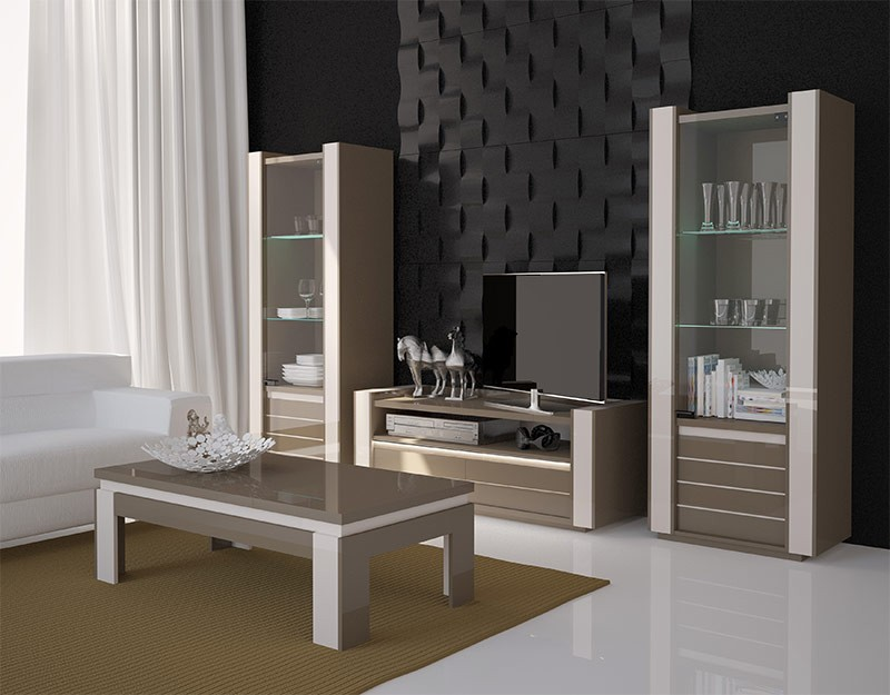 table basse design couleur taupe. Black Bedroom Furniture Sets. Home Design Ideas