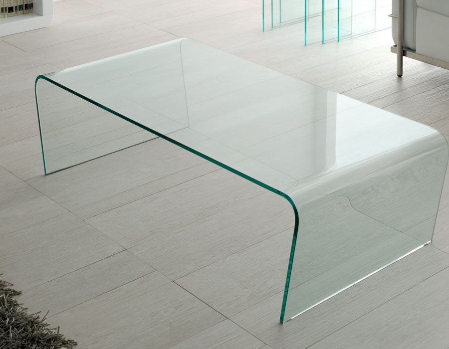 Table basse en verre design YORIC