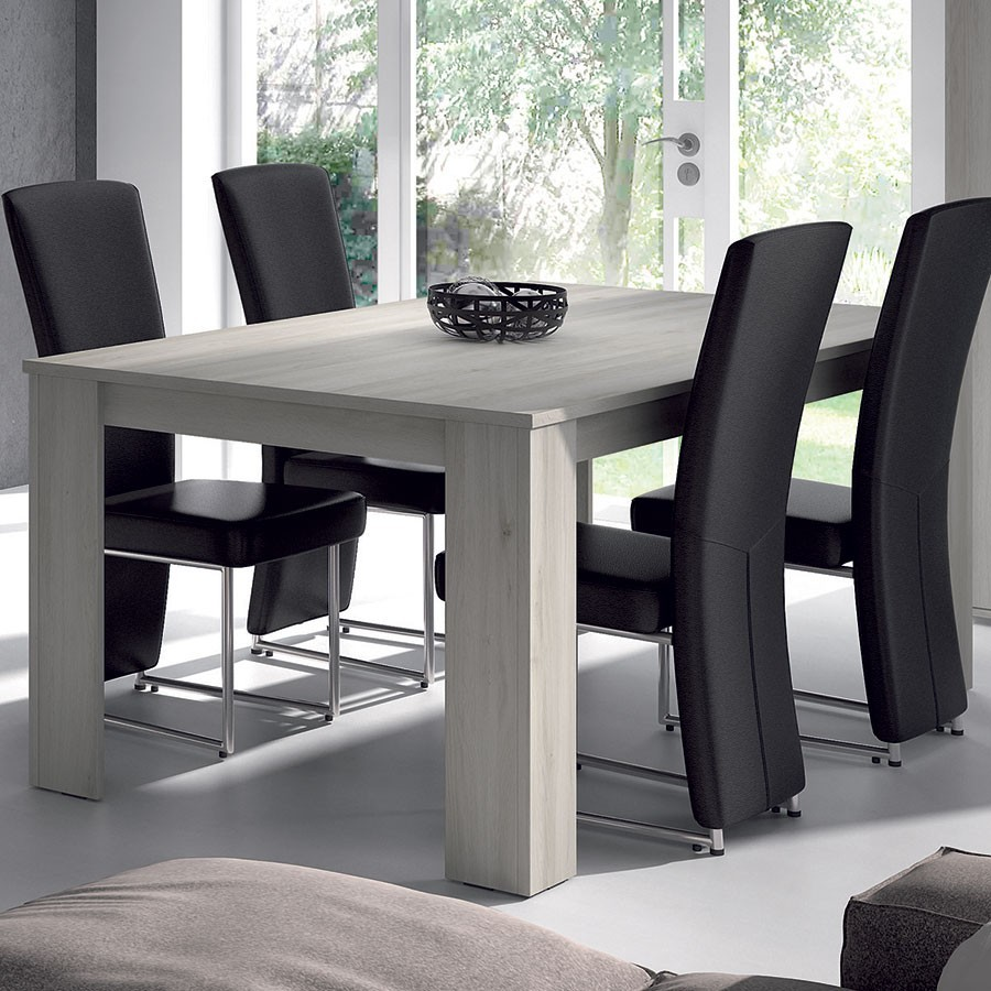 chaise blanc salle a manger amenagement salle manger. Black Bedroom Furniture Sets. Home Design Ideas