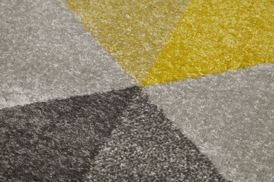 Tapis antistatique for Tapis salon jaune et gris