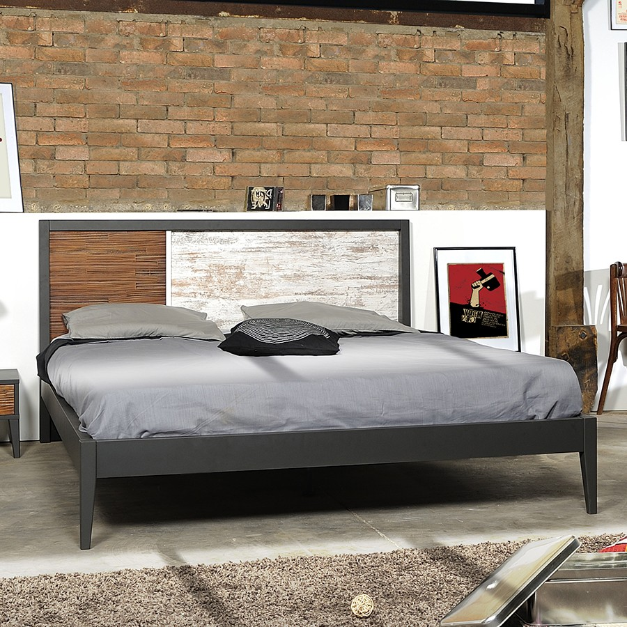 lit adulte en bois jusqu 51 promo black friday. Black Bedroom Furniture Sets. Home Design Ideas