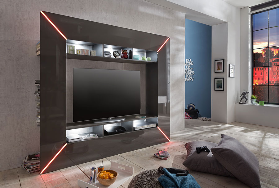 Led guide d 39 achat - Grand meuble tv design ...