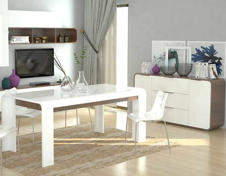 Salle blanche guide d 39 achat for Achat salle a manger moderne