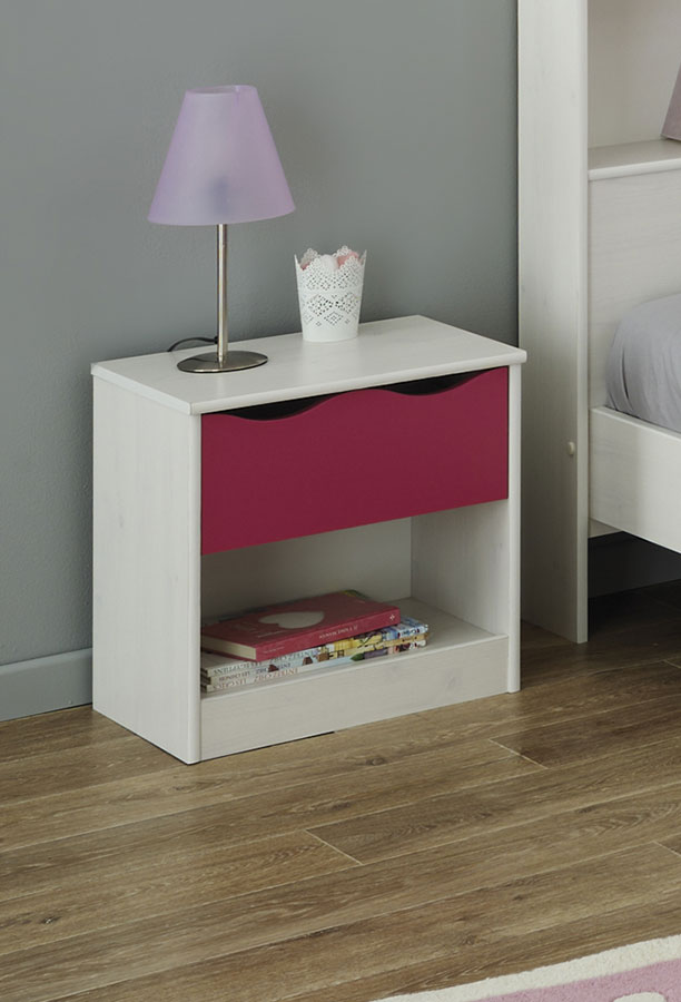 Rose guide d 39 achat for Table de chevet rose