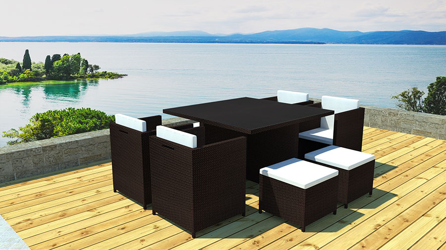 magasin salon de jardin. Black Bedroom Furniture Sets. Home Design Ideas