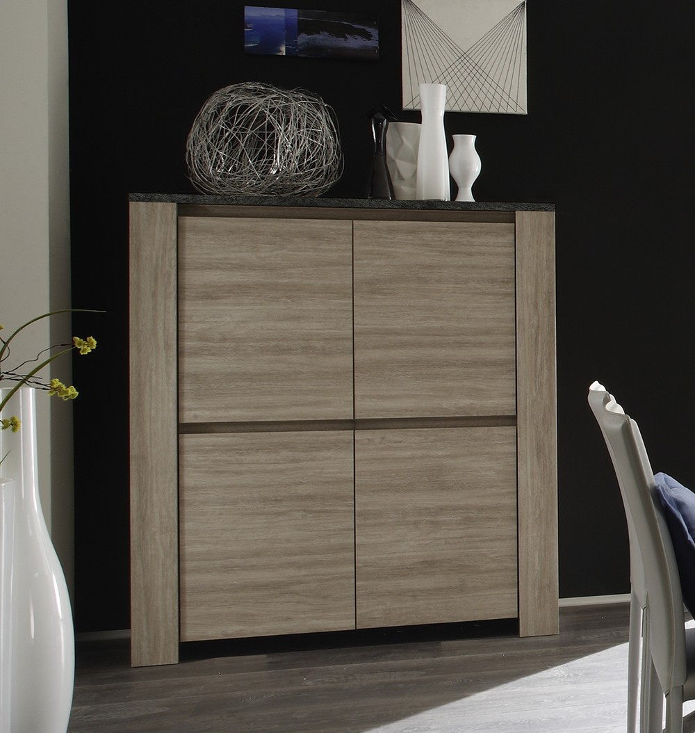 argentier bar chene ardoise argeles2 zd1 arg b c. Black Bedroom Furniture Sets. Home Design Ideas