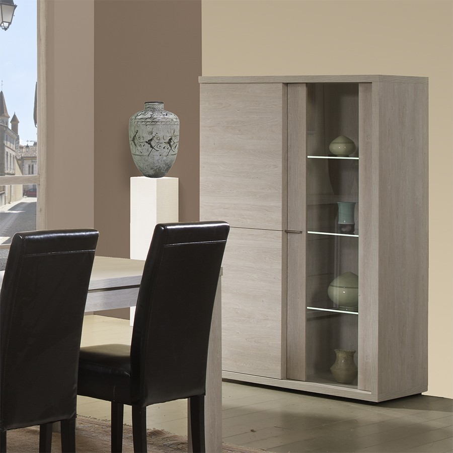 argentier vaisselier contemporain belfast zd1 arg v c. Black Bedroom Furniture Sets. Home Design Ideas