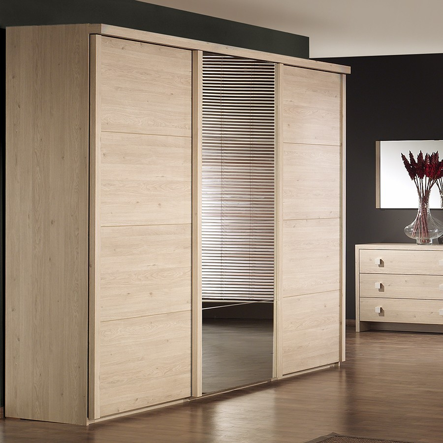 armoire contemporaine 3 portes coulissantes jade zd1 arm a c. Black Bedroom Furniture Sets. Home Design Ideas