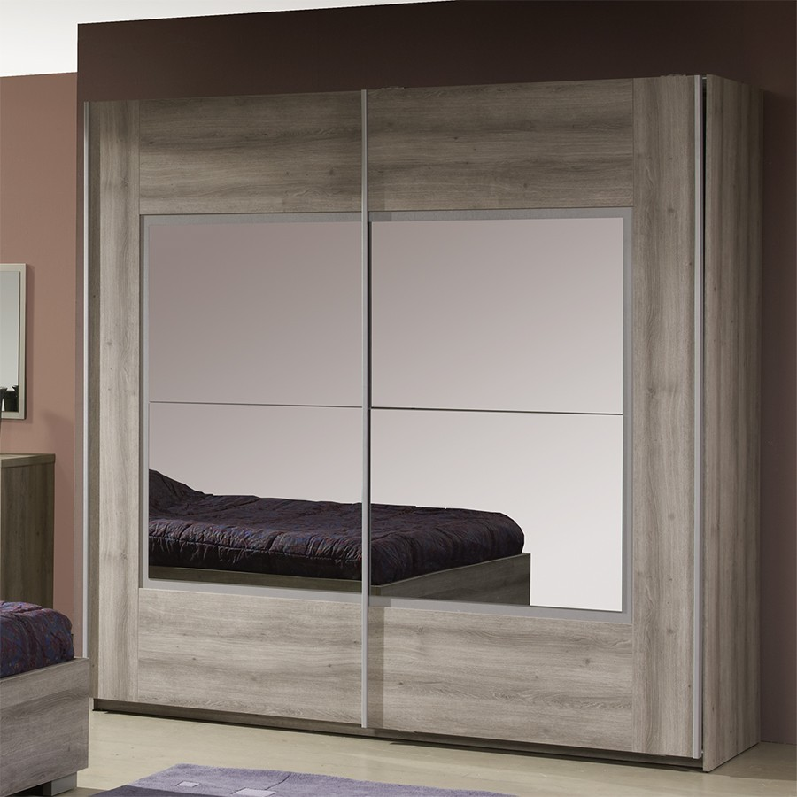 armoire contemporaine avec miroir charlotte zd1 arm a c. Black Bedroom Furniture Sets. Home Design Ideas