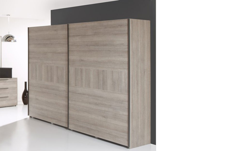 armoire contemporaine couleur ch ne naturel richard. Black Bedroom Furniture Sets. Home Design Ideas