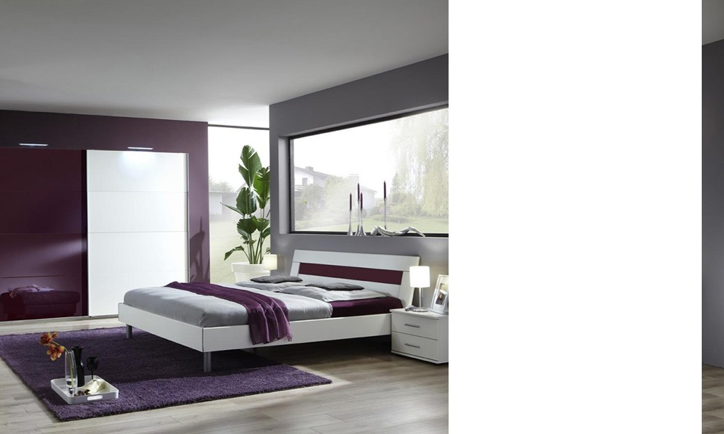 Eclairage led chambre chambre adulte complte design livia for Chambre bordeaux