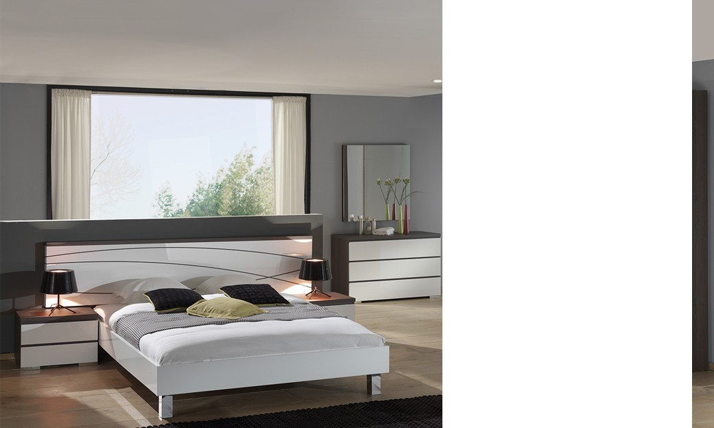Chambres adultes completes design excellent ides chambre for Mobilier chambre adulte complete design
