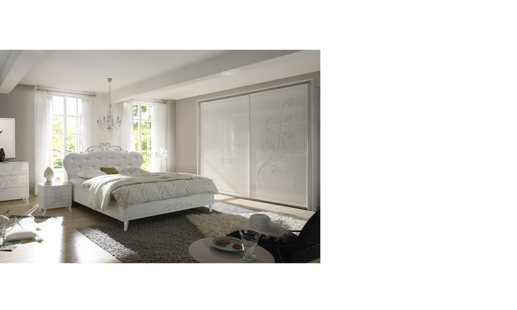 chambre a coucher blanc design chambre with chambre a coucher blanc design chambre adulte. Black Bedroom Furniture Sets. Home Design Ideas