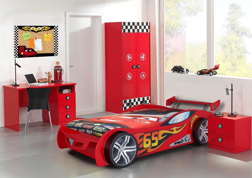chambre complete enfant rallycar zd1 ch e c. Black Bedroom Furniture Sets. Home Design Ideas
