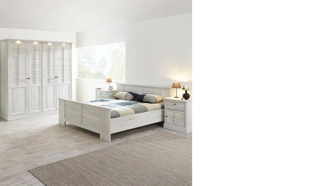 Chambre adulte contemporaine couleur bois blanc lanette for Chambre contemporaine adulte