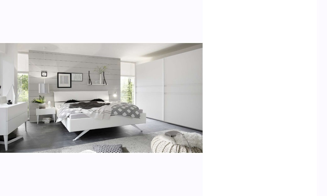 chambre adulte laqu blanc. Black Bedroom Furniture Sets. Home Design Ideas