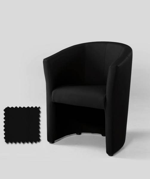 fauteuil cabriolet noir carmelo zd1 faut cab. Black Bedroom Furniture Sets. Home Design Ideas