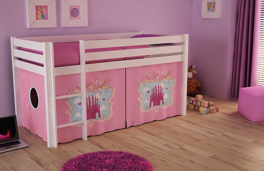 habillage lit cabane gallery of img with habillage lit cabane top kids room bunkbed house. Black Bedroom Furniture Sets. Home Design Ideas