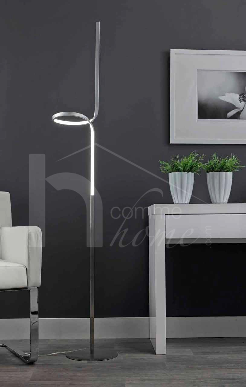 lampadaire design a led curly zd1 lamp d. Black Bedroom Furniture Sets. Home Design Ideas