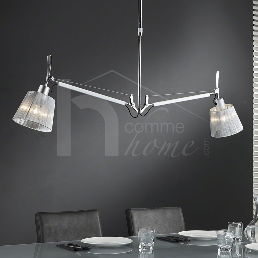 Luminaire suspension reglable for Lustre suspendu design