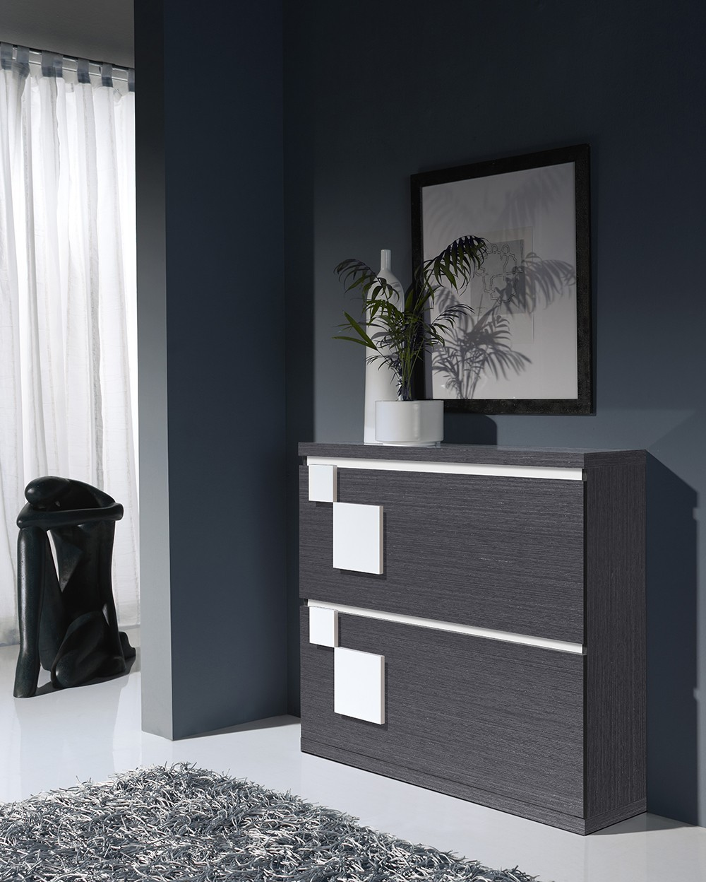 meuble a chaussures contemporain toledo zd1 mac mod. Black Bedroom Furniture Sets. Home Design Ideas