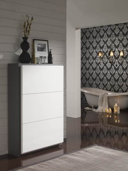 meuble a chaussures moderne castafiore zd1 mac mod. Black Bedroom Furniture Sets. Home Design Ideas