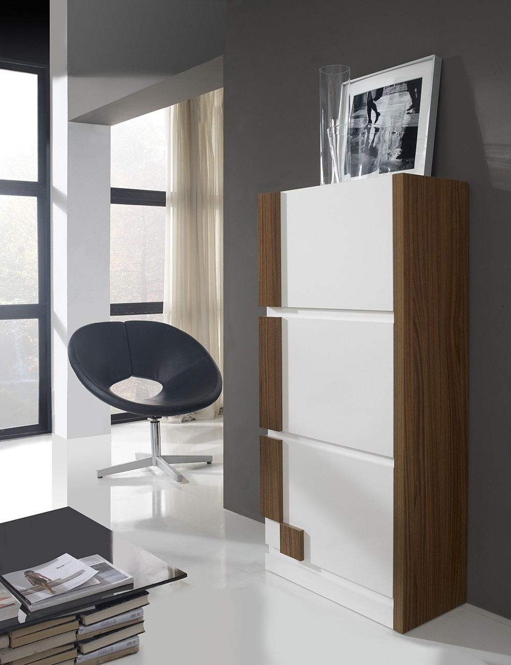 meuble a chaussures moderne joyce zd1 mac mod. Black Bedroom Furniture Sets. Home Design Ideas