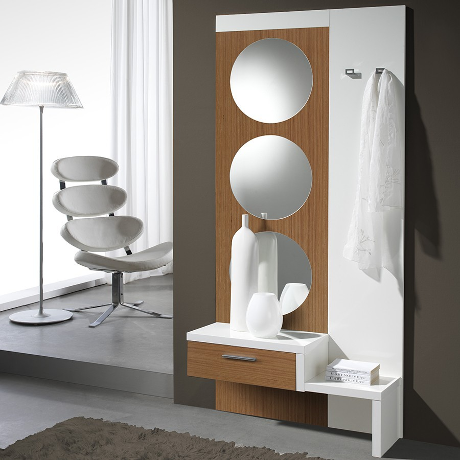 meuble dentre moderne miroirs tom disponible en 2 coloris