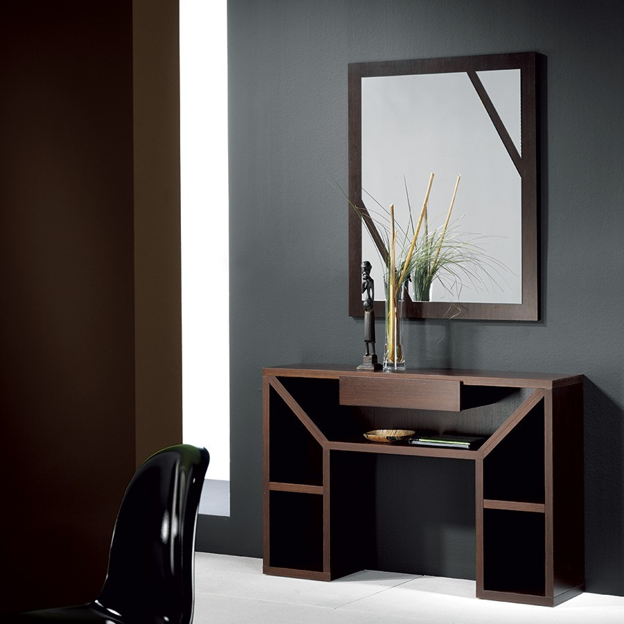 meuble d entree contemporain wenge karta zd1 meu dentr. Black Bedroom Furniture Sets. Home Design Ideas