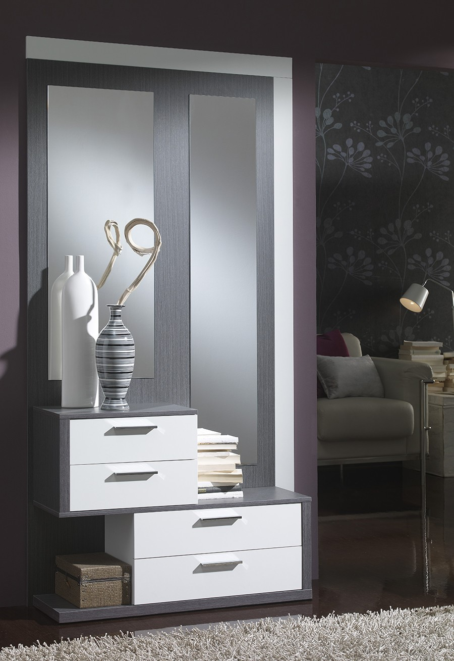 meuble d entree moderne amelio zd1 meu dentr. Black Bedroom Furniture Sets. Home Design Ideas