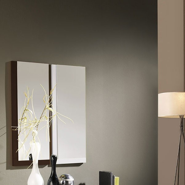 meuble entree miroir blanc wenge chagall zd1 meu dentr. Black Bedroom Furniture Sets. Home Design Ideas