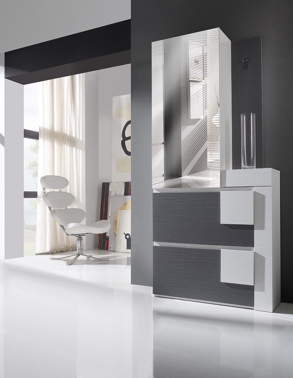 meuble entree moderne chaussures diogo zd1 meu dentr. Black Bedroom Furniture Sets. Home Design Ideas