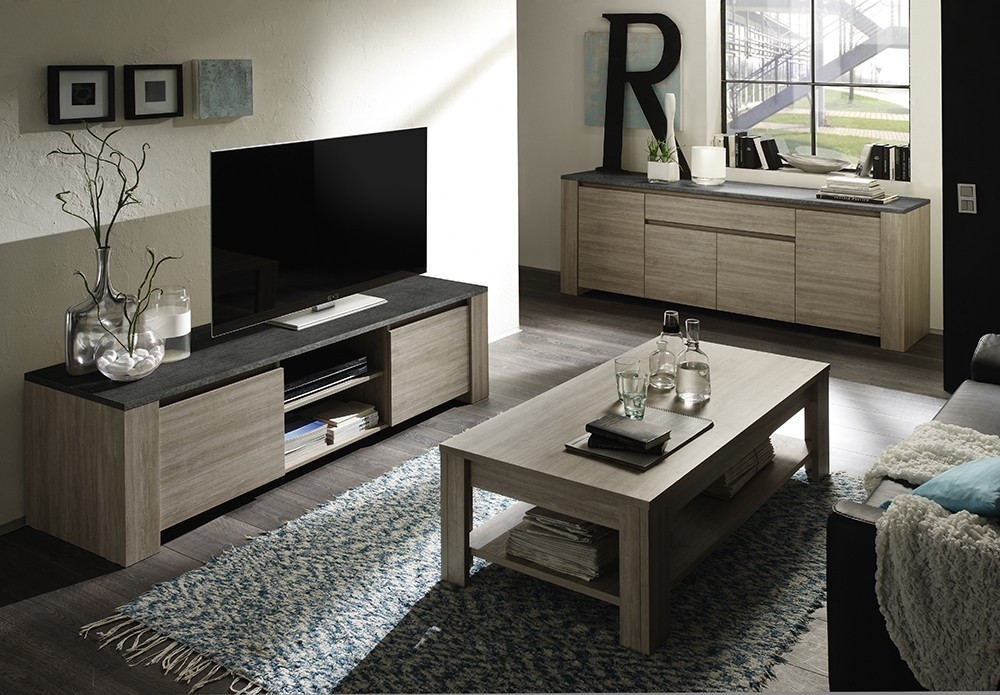 meuble tv contemporain argeles2 zd2 m tv c. Black Bedroom Furniture Sets. Home Design Ideas