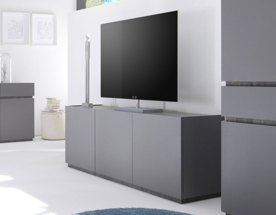 meuble tv salon m tv c 104 zd1. Black Bedroom Furniture Sets. Home Design Ideas