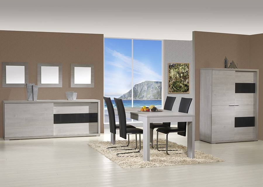 salle a manger complete contemporaine cardiff zd1 sam c. Black Bedroom Furniture Sets. Home Design Ideas