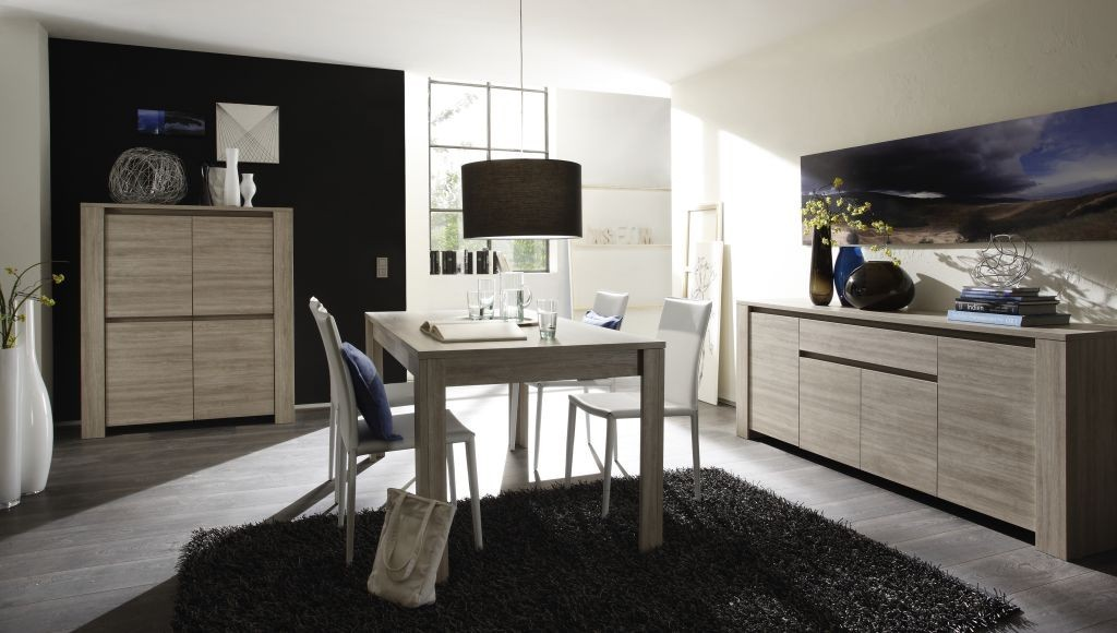 salle a manger contemporaine argeles zd1 sam c. Black Bedroom Furniture Sets. Home Design Ideas
