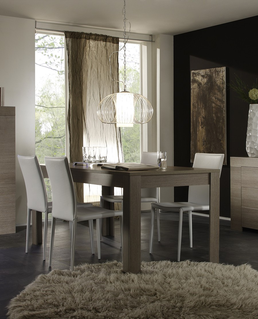 Table a manger contemporaine toscane zd1 tab r c - Table a manger dimension ...