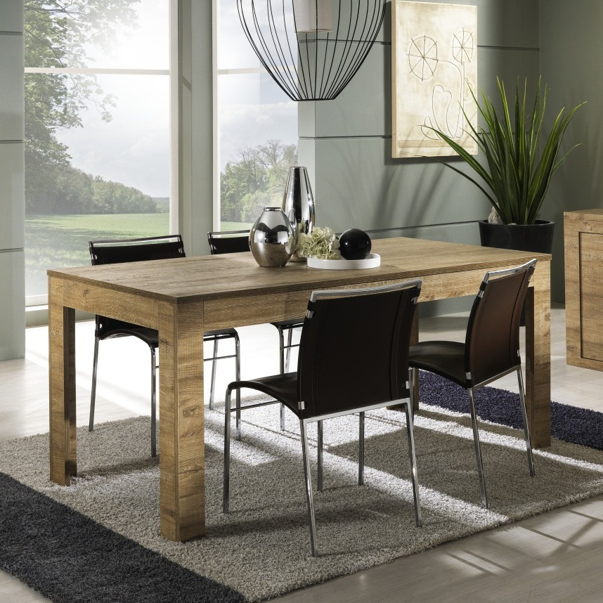 Table a manger contemporaine utopia zd1 tab r c for Salle a manger rectangulaire