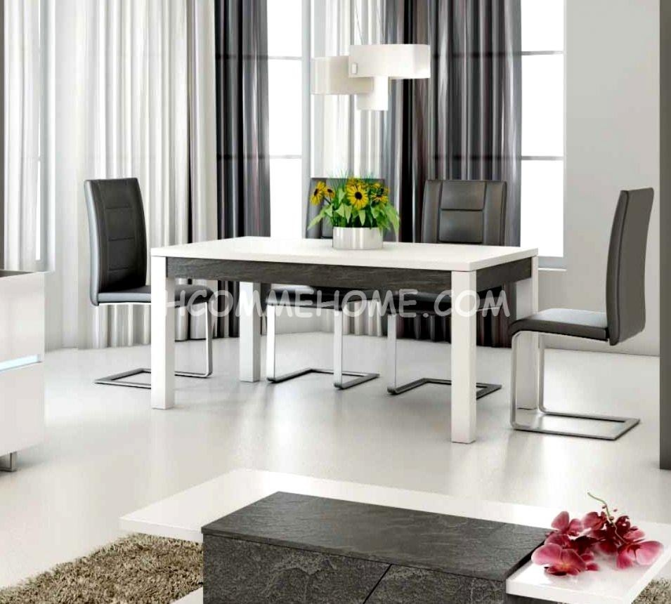 Table a manger design lizea zd1 tab r d for Table salle a manger wave