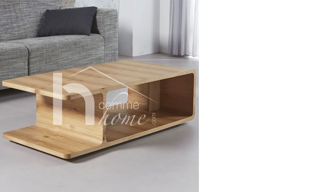 Ordinaire Table Basse Chene Naturel 11 Table Basse Table